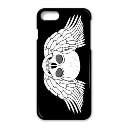 Skull With Wings Fantasy Art Design iPhone 7 Case