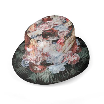 Flowers / Bouquet - - Reversible Hat