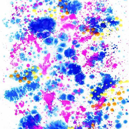 Paint Splat Socks