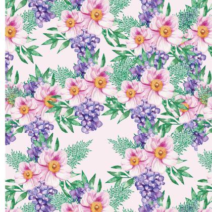 Elysian Bouquet Print Ladies T Shirt