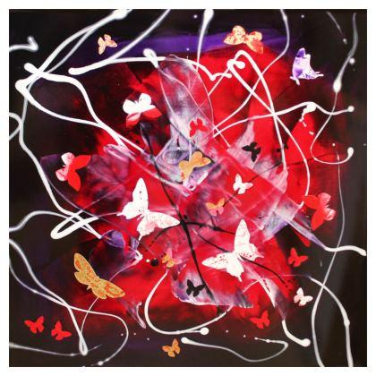 """Art Gift/ Cushions """"Butterfly Cascade"""" series"""