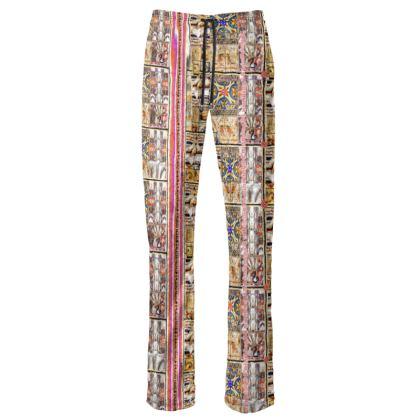 229,- #Damenhosen Hose, Jump in pant, size S, STRIPES