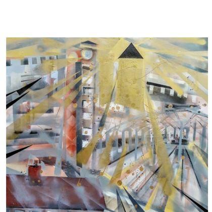 East Ender Leather Clutch Bag