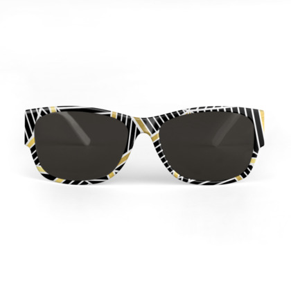 Sunglasses - Ab Lines Gold