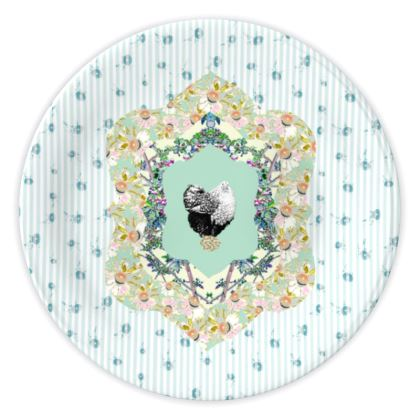Vintage Chic China Plate