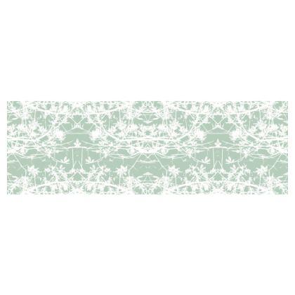 Star Vine Mint Bolster Cushion