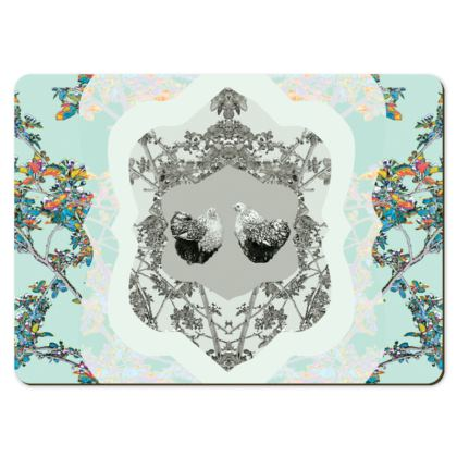 Chicken Print Large Placemats