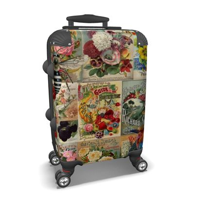 Seed Packets Suitcase