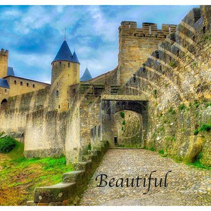 Original Leather Shoulder Bag/Cross Body Bag - Carcassonne