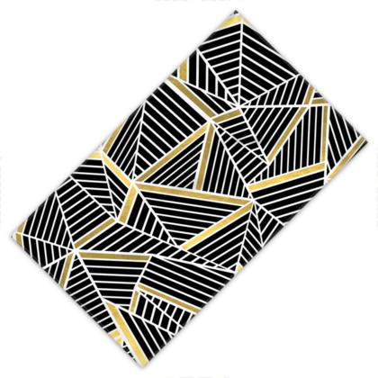 Towels - Ab Lines Gold