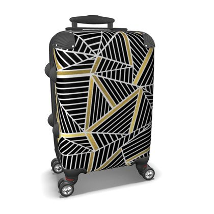 Suitcase - Ab Lines Gold