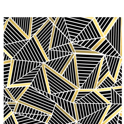 Hard Glasses Case - Ab Lines Gold