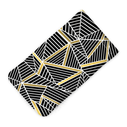 Glasses Case Pouch - Ab Lines Gold