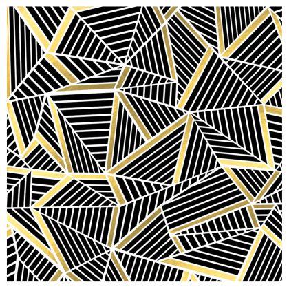 Handbags - Ab Lines Gold