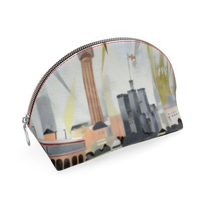 Designer Shell Coin Purse - Toon Collection by Alison Gargett