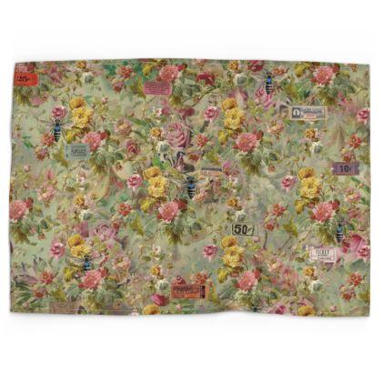 Flower Festival Tea Towel