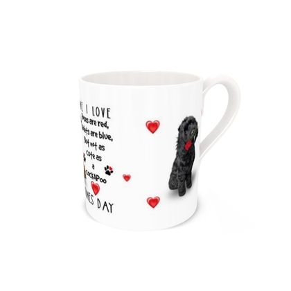 To the one I love Cockapoo Bone China Mug