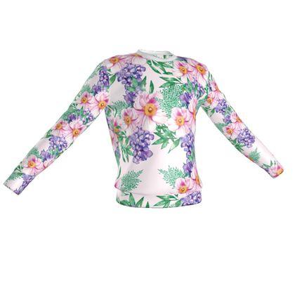 Elysian Bouquet Print Sweatshirt