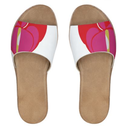 pink lily sliders