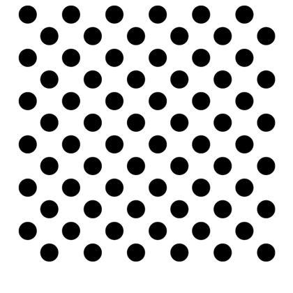 Polka Dots - Black and White - Slip Dress