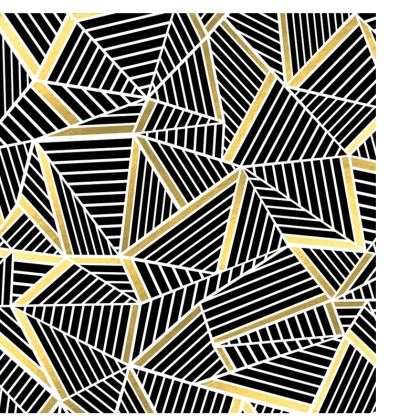 Deckchair - Ab Lines Gold 2