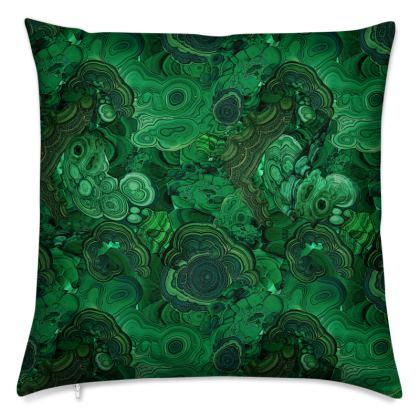 'Malachite' Cushion