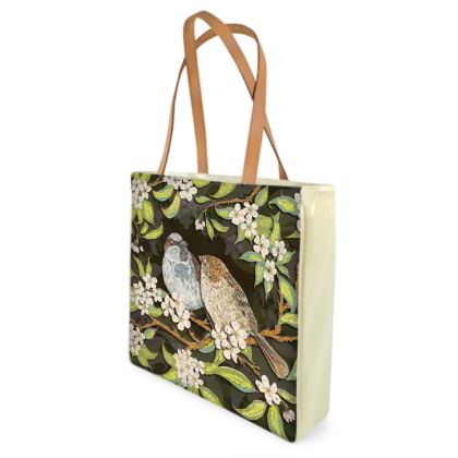 Sparrows Shopper Bag