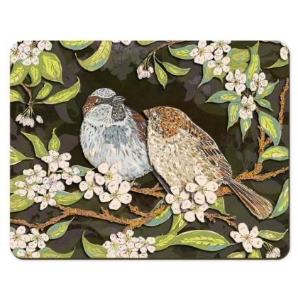 Sparrows Placemats Set