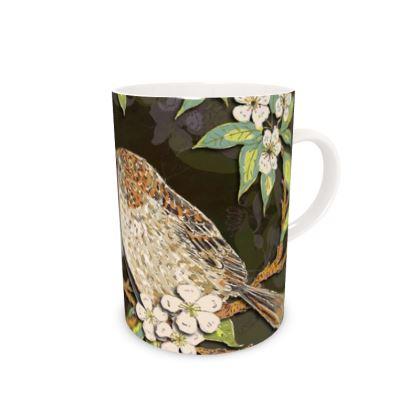 Sparrows China Mug
