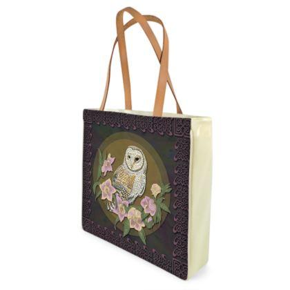Celtic Owl Shopper Bag
