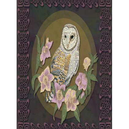 Celtic Owl Tray
