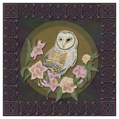 Celtic Owl Coasters