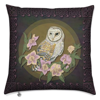 Celtic Owl Cushions