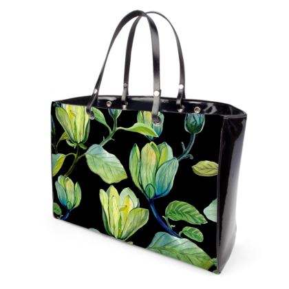 Night Magnolias Handbag