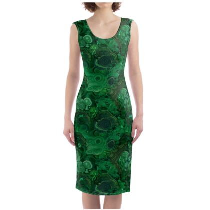 'Malachite' Bodycon Dress