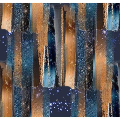 Starry Night Copper Bright Ornamental Bowl