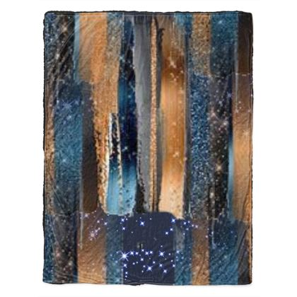 Starry Night Copper Bright Throw