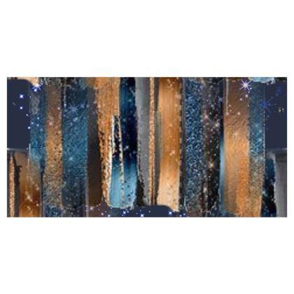Starry Night Copper Bright Wallpaper