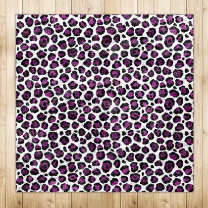 Purple Leopard Rugs
