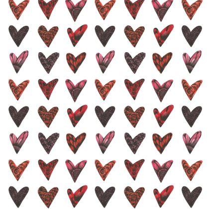 Floral Hearts Cushion