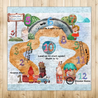 Get Gnomey Home Playmat Rugs