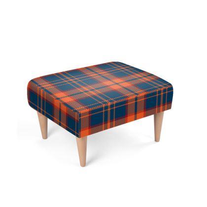 Queen of Scots Footstool