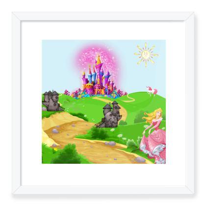 Princess Framed Art Prints