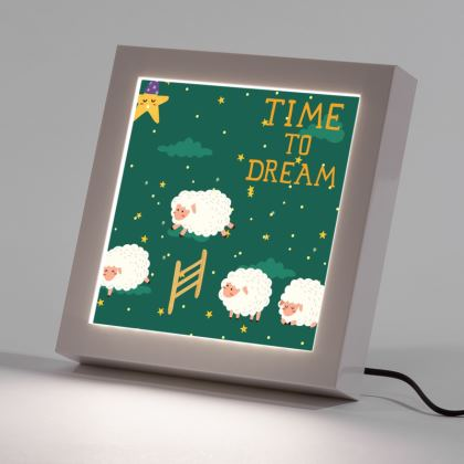 Counting Sheep LED Frame