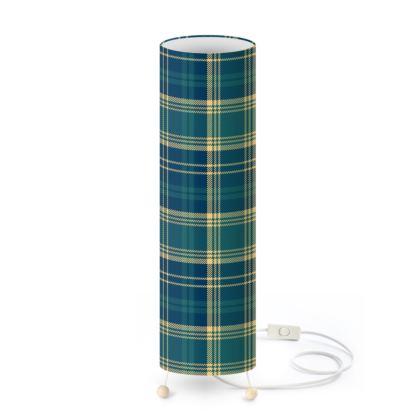 Highland Blue Standing Lamp