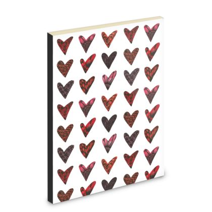 Floral Hearts Pocket Note Book