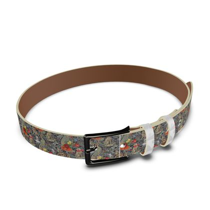 And Another Thing Leather Belt