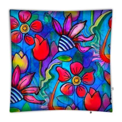 Floral Burst Floor cushions