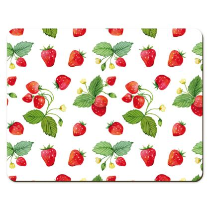 Sweet Strawberry Placemats
