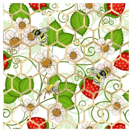 Sweet Strawberry Coasters